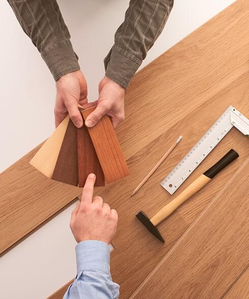 hardwood install flooring